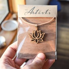 the_artists_design_studioAnother Lotus Blooming wood pendant on leather necklace for delivery in South Africa - The Artists is an online design company, specializing in jewellery and 3D design, as well as the curation of beautiful design pieces and art. Visit our Facebook page www.facebook.com/theartists.co.za #theartistsdesign #theartistsstudio #theartistsjewellery #jewelry #designer #art #design #imagineersdesignerscreators #jewellery #natural #wood #geometry #spiritual