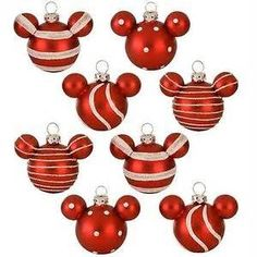 More Mickey ornaments...