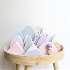 "450 Likes, 11 Comments - LittleGatherer (@littlegatherer) on Instagram: ""Mountains of cute!! ♡ Love this little collection from @agentvalentine.inc x #littlegathererspaces"""