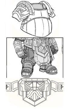Fantasy Dwarf, Fantasy Armor, Fantasy Weapons, Larp, Dwarven Armor, Character Concept, Concept Art, Dark Souls, Warhammer Dwarfs