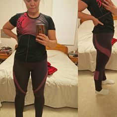 Fabulous colour combo on this pair of PB Jam Leggings! Colour Combo, Color, Swirl Design, Pattern Making, Workout Leggings, Contrast, Sporty, Pairs, Patterns