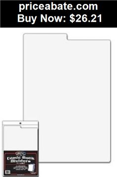 Collectibles: Lot of 50 BCW Tabbed White Plastic Comic Book Box Dividers - 7 1/4 X 10 3/4 - BUY IT NOW ONLY $26.21
