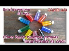 COMO FABRICAR NUESTRA PROPIA LACA VITRAL DE Parte 3/3 - YouTube Decoupage, Craft Supplies, Coffee Mugs, Clay, Youtube, Crafts, Biscuit, General Crafts, Varnishes