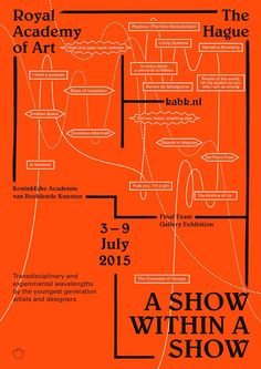 "KABK Graphic Design, ""A Show Within A Show"", 3 – 9 July 2015 