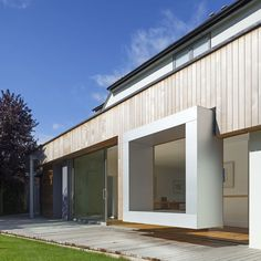 Cut and Frame House by Ashton Porter Architects