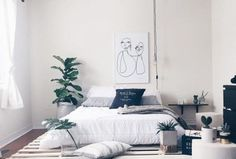 35 Minimalist Bedroom Decoration That Inspire Minimalist Furniture, Minimalist Interior, Minimalist Bedroom, Kids Bedroom Designs, Water Bed, Best Mattress, How To Make Bed, Bed Frame, Bedroom Decor