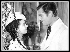 Rhett  Butler and Scarlett OHara....