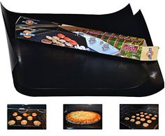 The Busy Home BBQ Grill Mat and Bake Mat with 2 Recipe eBooks  13 by 1575 inch in Black Set of 2 Mats * Want to know more, click on the image.