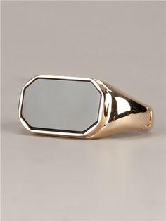 MAISON MARTIN MARGIELA Brass ring