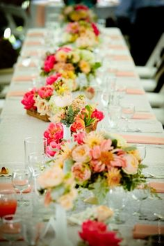 Peterloon Wedding Guest Table Centerpieces