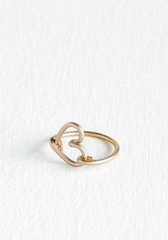 sweet little heart ring