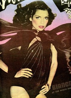 Bianca Jagger looking fierce. Repinned by www.lecastingparisien.com