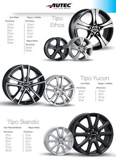 http://autoimagen.es/site2/productos.php?input_gama=5  Llantas para todos los estilos!