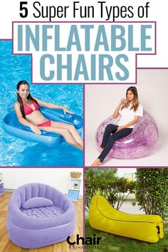 Inflatable furniture is a great alternative to more expensive options. Why spend a bunch of money on expensive furniture, when you can accomplish the same thing with an inflatable chair or couch? There are several types of inflatable chairs out there. Inflatable Furniture, Inflatable Chair, Outdoor Seating, Outdoor Chairs, Spider Light, Leather Chair With Ottoman, Wicker Chairs, Camping Chairs, Bedroom Chair
