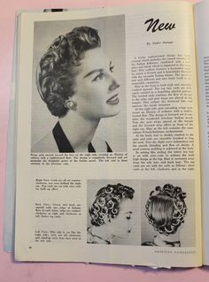 Browse free vintage patterns, retro hair tutorials and affordable vintage clothing. Enjoy diy fashion crafts and classic style inspiration Pin Curl Hair, Pin Curls, 1940s Hairstyles, Curled Hairstyles, Wedding Hairstyles, High Bun Hair, Hair Buns, Hair Patterns, Rockabilly Hair