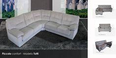 Totti Sofá Rinconera Viscolelastica. Sistema modular. http://muebles-arevalo.es/tienda/sofas-madrid/totti-rinconera/ #muebles #sofas #madrid