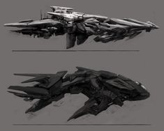 ArtStation - Kory Cromie's submission on The Journey - Transport Art Challenge Space Ship Concept Art, Alien Concept Art, Concept Ships, Concept Cars, Alien Spaceship, Spaceship Design, Spaceship Concept, Ancient Greek City, Art Station