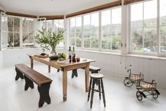 Trendy dining room - cute image