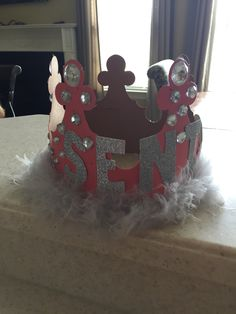 My senior crown