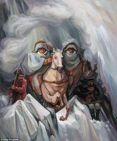 oleg shuplyak illusion alexander vasilyevich. Read Full article: http://webneel.com/webneel/blog/10-amazing-hand-painting-illusions-ray-massey-and-annie-ralli | more http://webneel.com/paintings . Follow us www.pinterest.com/webneel
