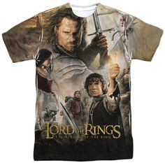 Lord Of The Rings : King Poster Sublimated T-Shirt