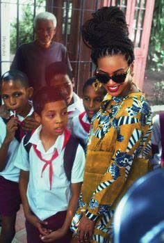 Bey In Cuba