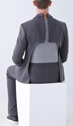 <p>These clothes, designed by Izzy Camilleri, look a odd out of context, but are completely normal when in use.</p>