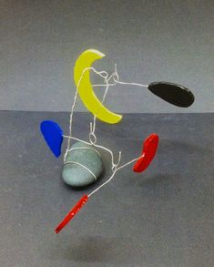 OBJECTIVE: Students will observe and create kinetic balance in artwork. After studying the artist Calder, Students will Plan ...