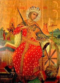 ST. CATHERINE OF ALEXANDRIA Patroness of young women, philosophers, preachers, theologians, wheelwrights, millers, and other workingmen