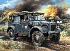 1941 Kfz 2 Stöwer 40 - Valery Rudenko