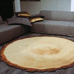 Drewniany dywan Yvette Laduk