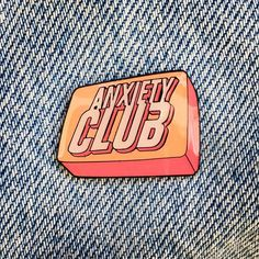 Repost @pinlife  NEW PIN DROP - 'Anxiety Club' pins are back and better than before! The colour has been dialled and they look super vibrant they also have an epoxy coat which makes them super shiny! Don't forget every pin sold contributes to a donation to @mindcharity  also if you order one today you'll get another one of my pins chucked in for free! (Randomly selected by me) link to buy is in bio! @pinlife @pinlife @pinlife     (Posted by https://bbllowwnn.com/) Tap the photo for purchase…