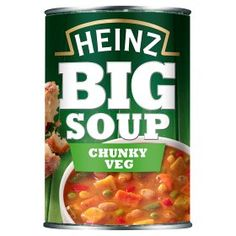 Heinz Big Soup Chunky Veg 200 cal per can Slimming World Syn Values, Slimming World Syns, Slimming World Recipes, Roast Chicken Veg, Chicken And Vegetables, Retro Recipes, Vintage Recipes, Angus Steak, Humor