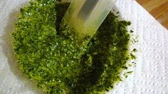 For Love of the Table:  Basil Pesto