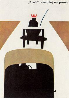 Wojciech Zamecznik, 1964 Art Design, Graphic Design, Pop Art, Look At The Book, Happy As A Clam, Flat Earth Society, Polish Posters, Illustrations, Vintage Advertisements