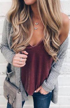 ootd | velvet top + knit cardigan + bag + skinnies