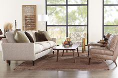 The Oslo couch, Bergen chair, and Architect chair sharing the spotlight. It's hard to pick a favorite!