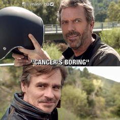 House and Wilson Gregory House, House Md Funny, John Deep, House And Wilson, House Md Quotes, Everybody Lies, Robert Sean Leonard, Grey Anatomy Quotes, Hugh Laurie