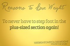 1000 Reasons to Lose Weight