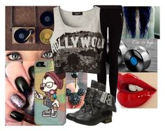 """""""Hipster Bullsh*t✿"""" by ferretsareattractive ❤ liked on Polyvore featuring MANGO, Disney, Wet Seal and Sisters Point"""