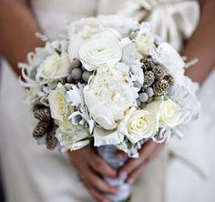 Inspiring Details: Pine Cones  :  wedding decor germany rapid city Bouquet bouquet