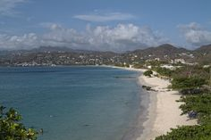 GRENADA- The famous Grand Anse beach extends some 2 miles along the coast.