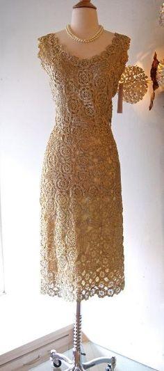 1950's Raffia Dress by iro4ka