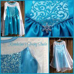 Frozen Princess Elsa Inspired Princess dress by Randalinas on Etsy, $125.00