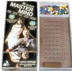 Mastermind game - played at Aunt Helen's.