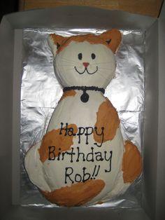 Cat Cake I did.