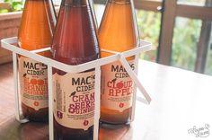 Mac's Cider Range New Zealand Food, Lifestyle Blog, Range, Apple, Homemade, Bottle, Creative, Diy, Bricolage