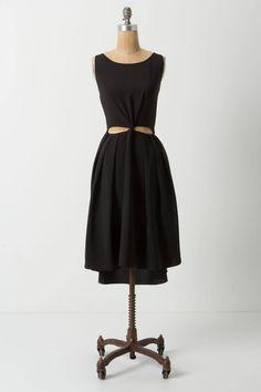 Oracle Tieback Dress - anthropologie.com