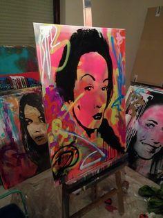 Curtains, Shower, Prints, Painting, Art, Rain Shower Heads, Art Background, Blinds, Painting Art
