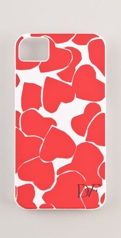 dvf hearts iphone case